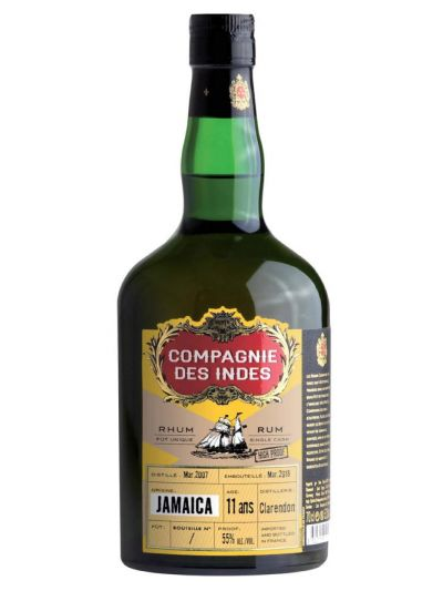Compagnie des Indes 11 YO Jamaica Monymusk Cask Strength 0.7L