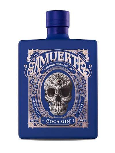 Amuerte Coca Gin Blue Edition