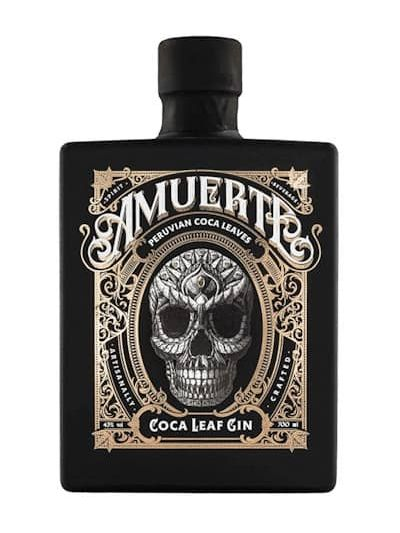 Amuerte Coca Leaf Gin Black Edition