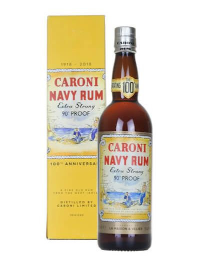 Caroni Navy Rum Extra Strong 100th Anniversary