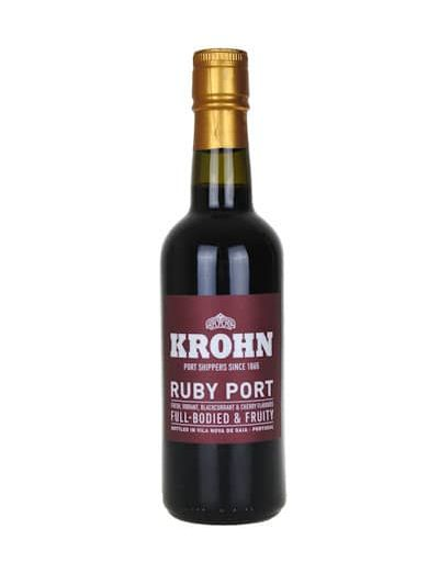 Krohn Ruby Port 0.375L