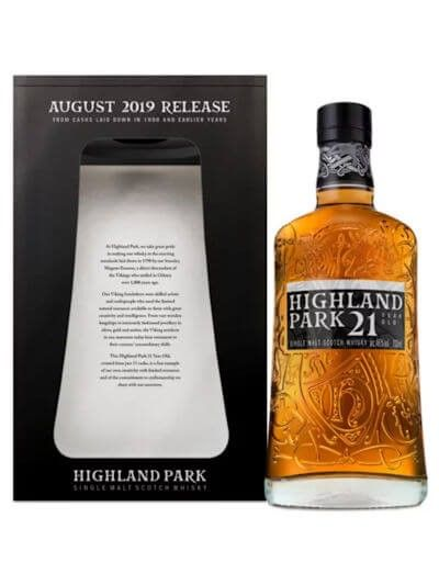 Highland Park 21 August 2019 Release 0.7L