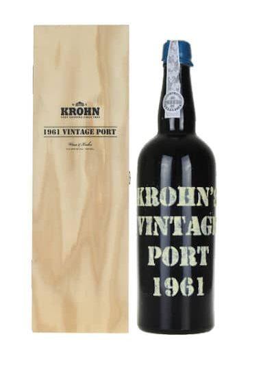 Krohn Vintage Port 1961