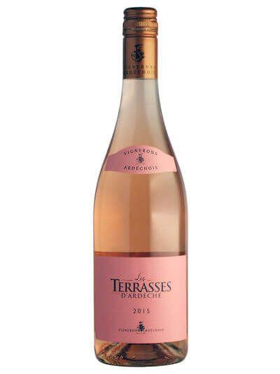 Les Terrasses d'Ardèche Rose 0.75L
