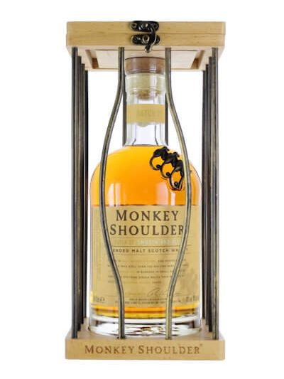 Monkey Shoulder in Kooi hout 0.7L