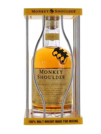 Monkey Shoulder in Kooi geel 0.7L