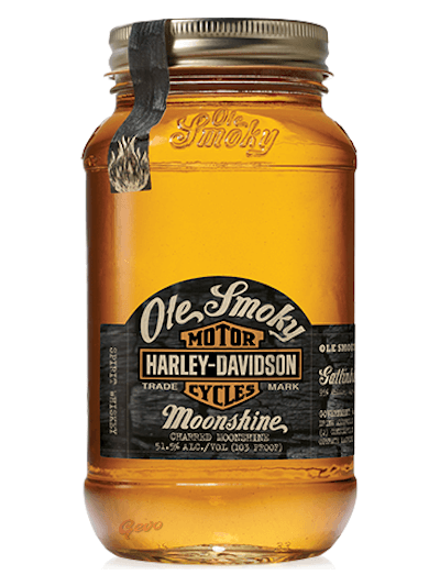 Ole Smoky Harly Davidson Charred Moonshine 0.5L