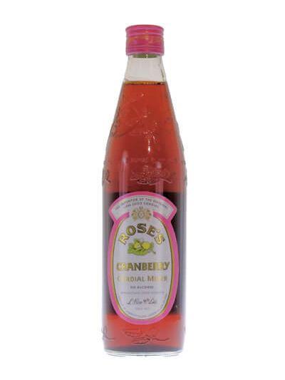 Rose's Cranberry Cordial Mixer 0.56L