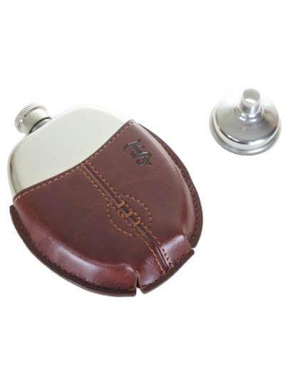 Santa Teresa Rugby Ball Mini Flask
