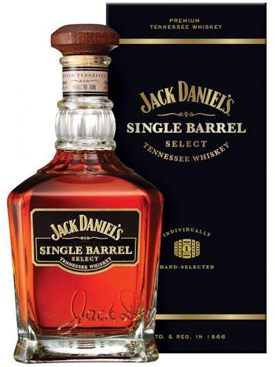 Jack Daniels Single Barrel in doos 0.7L