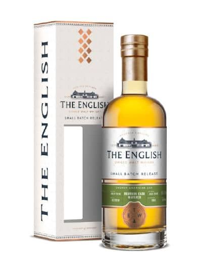 The English Small Batch Bourbon Cask Peated