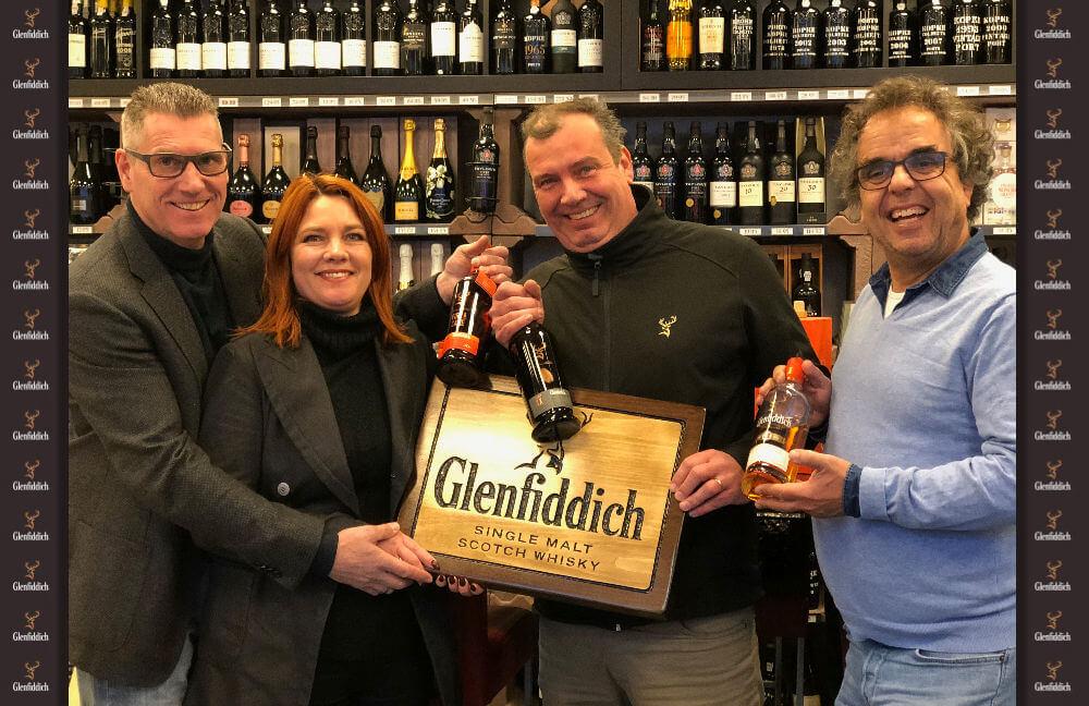 De 1e Glenfiddich store in Nederland
