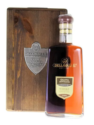 Dellavalle Grappa Affinata in botti da whisky 0.7L