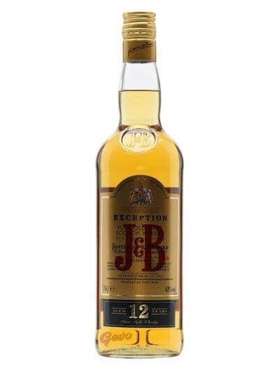 J&B Exception 12 YO 0.7L