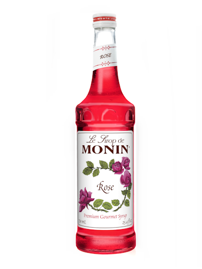 Monin Rose Siroop 0.7L