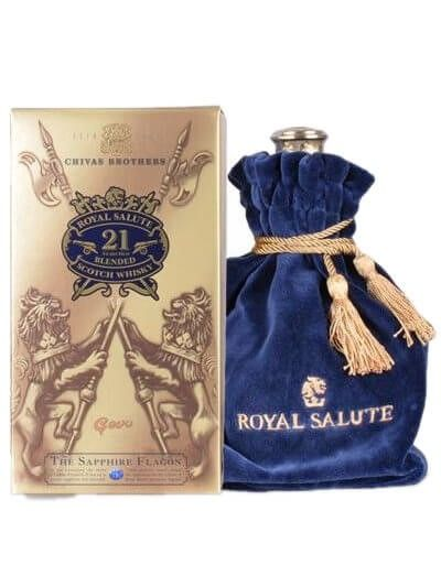 Chivas Regal 21 YO Royal Salute blue 0.7L