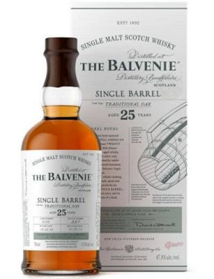 Balvenie 25 YO Single Barrel Traditional Oak 0.7L
