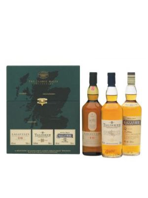 The Classic Malts Collection - Lagavulin - Talisker - Cragganmore 3 x 0.2L