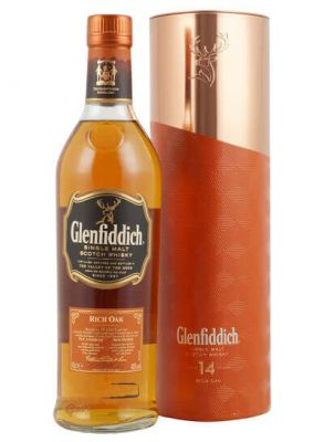 Glenfiddich 14 YO Rich Oak 0.7L