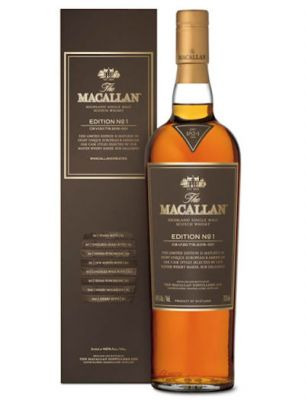 Macallan Edition No.1 in doos 0.7L