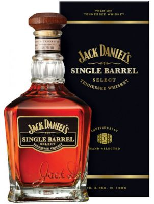 Jack Daniels Single Barrel in doos 0.7L