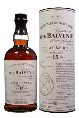 Balvenie 15 YO Single Barrel Sherry Cask 0.7L